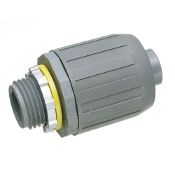 "Seal Tight Connector (1"") Straight, Plastic"