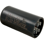 "Capacitor, Start (124-149 MFD) 125vac, 1-7/16"" X 2-3/4"") BC-124"
