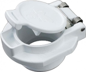 Vac Lock (White) Threaded, Custom Molded Plastics(25505-000-000)